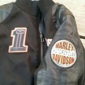 Harley-Davidson Jackets & Coats - Harley Davidson Kids Jacket Sz 5